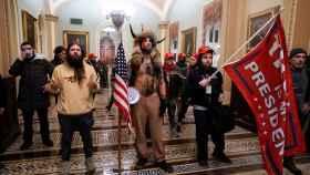 El asalto al Capitolio de Estados Unidos, en una de las instantáneas publicadas por El Español