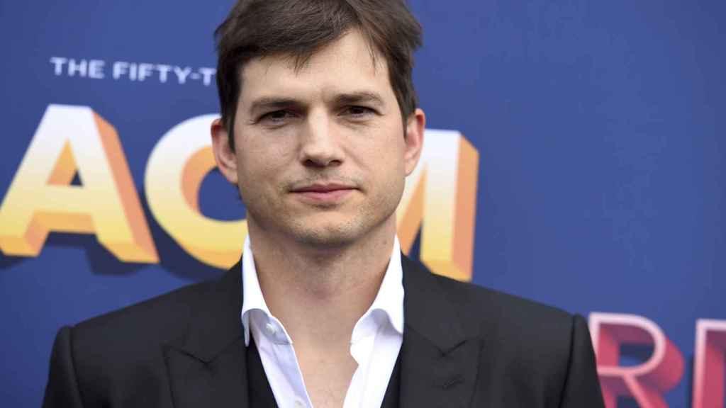 El actor Ashton Kutcher.