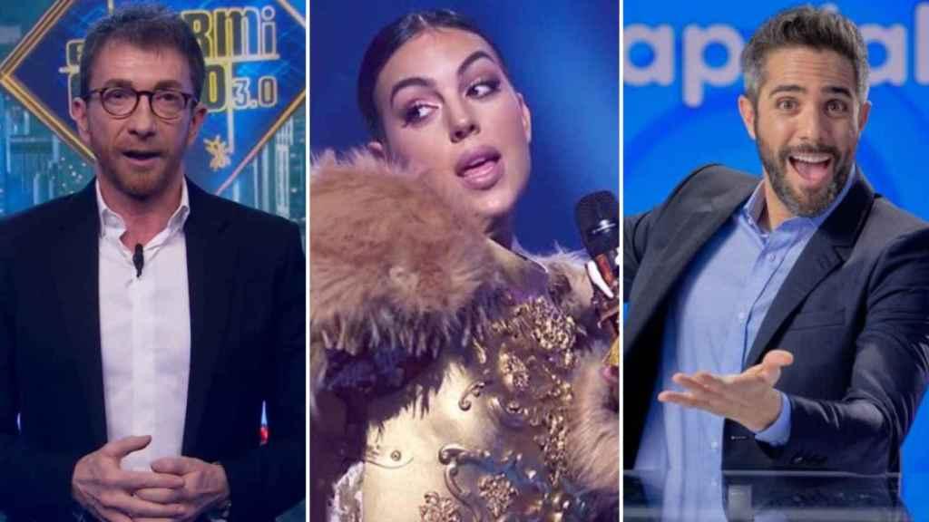 'El Hormiguero', 'Pasapalabra' y 'Mask Singer' (Antena 3)