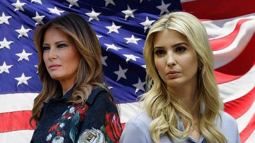 Melania e Ivanka Trump, en un fotomontaje de JALEOS.