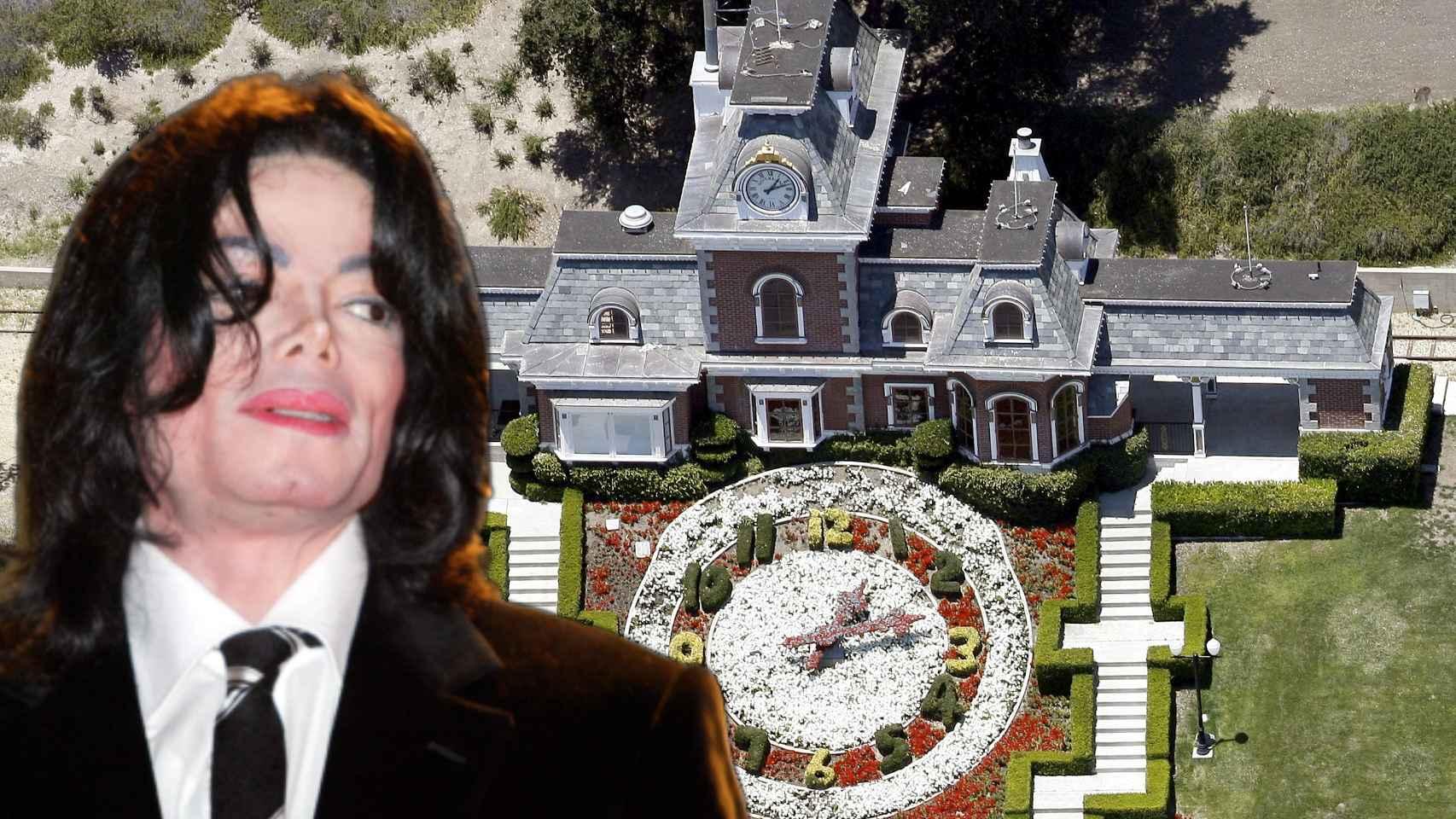 Michael Jackson en montaje de JALEOS.