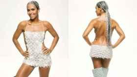 Cristina Pedroche con su 'look' de las campanadas, en una imagen compartida en redes sociales.