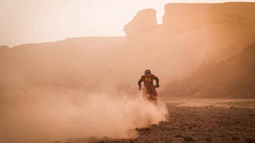 Toby Price en la etapa 5 del Rally Dakar 2021
