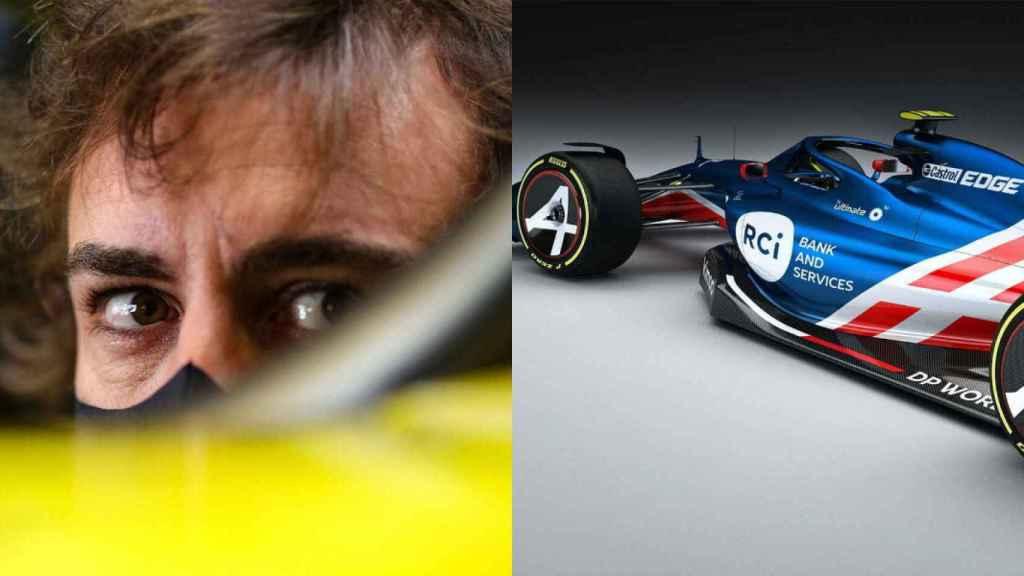 Alpine filtra nuevas imágenes del coche de Fernando Alonso para su regreso  a la Fórmula 1