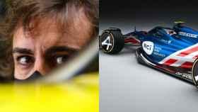Fernando Alonso y el posible diseño del Alpine F1