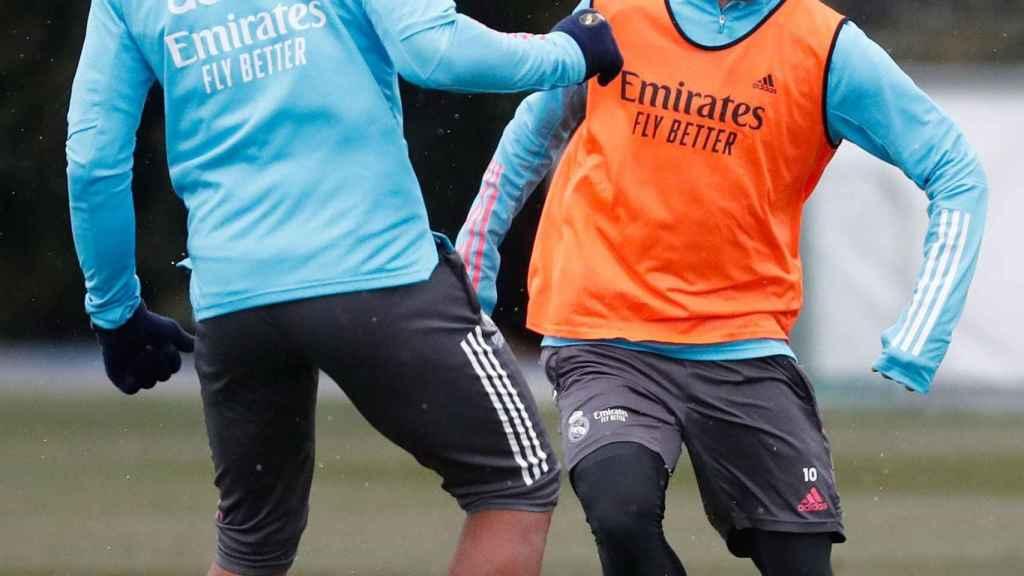 Luka Modric ante Casemiro