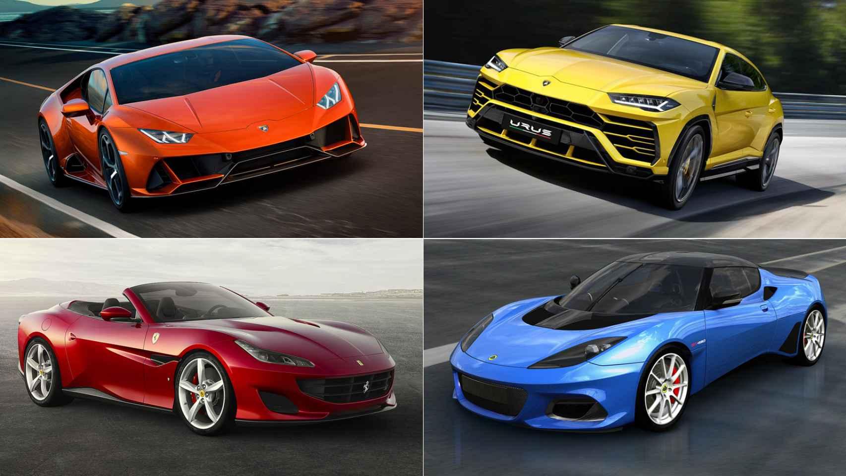 Imágenes de algunos de los coches menos vendidos.