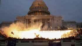 El asalto al Capitolio de Estados Unidos, en imágenes