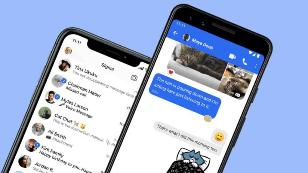 Signal es una app de mensajería alternativa a WhatsApp