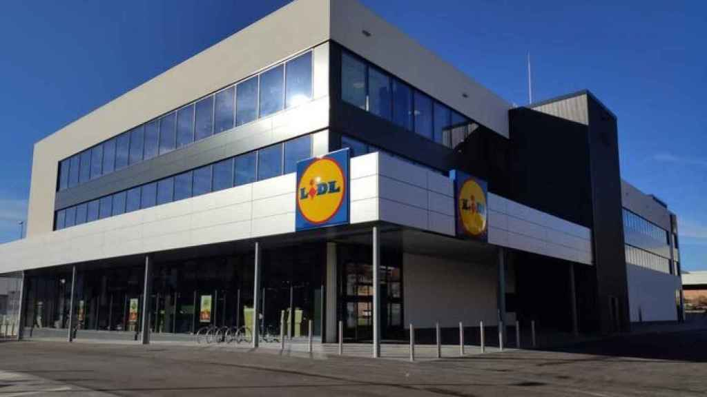 Supermercado de Lidl.