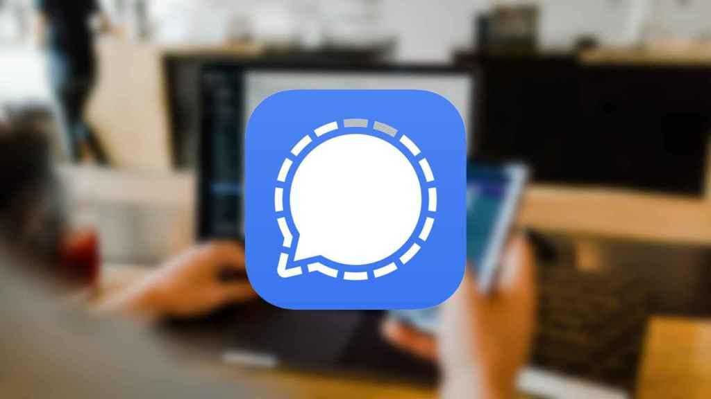 Logo de Signal.