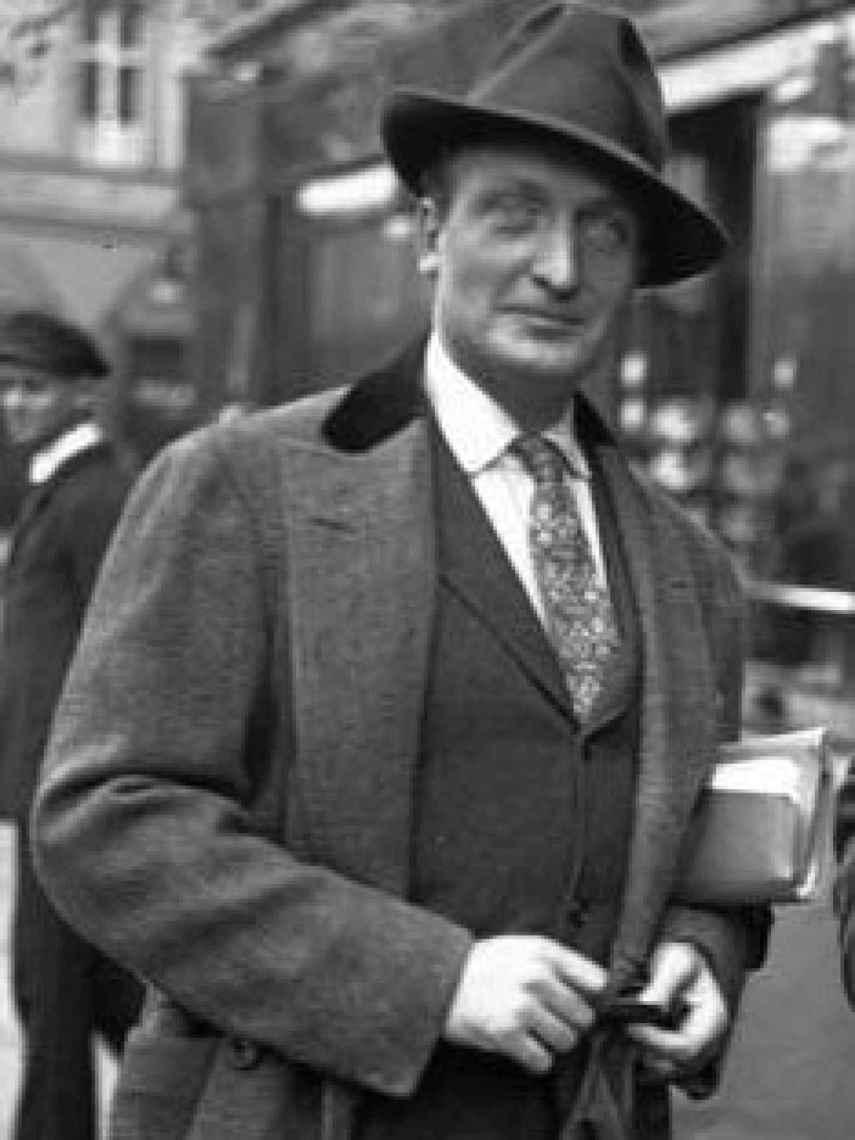 El actor Hans Albers.