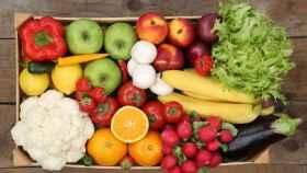 Ingredientes propios de una dieta vegetariana.