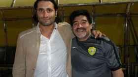 Morris Pagniello y Maradona