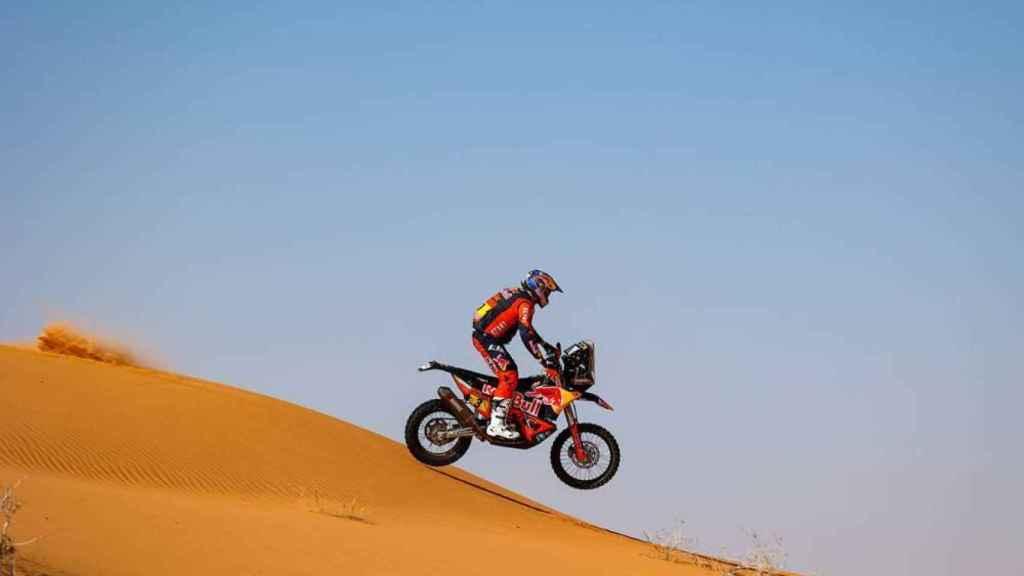 Toby Price en la etapa 6 del Rally Dakar 2021