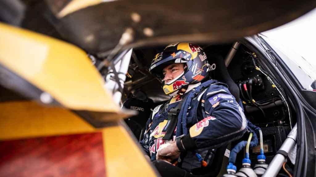 Carlos Sainz en el Rally Dakar 2021