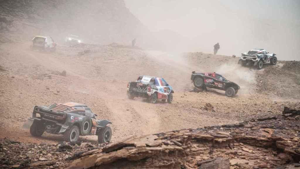 Pilotos en el Dakar completamente perdidos