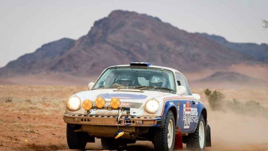 Uno de los participantes del Dakar Classic 2021