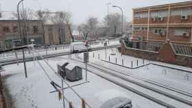 Nieve en Toledo tras la borrasca Filomena. Twitter