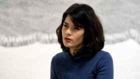 La portavoz de Podemos en la Asamblea de Madrid, Isa Serra, carga contra Abascal en una entrevista a 'Europa Press'.