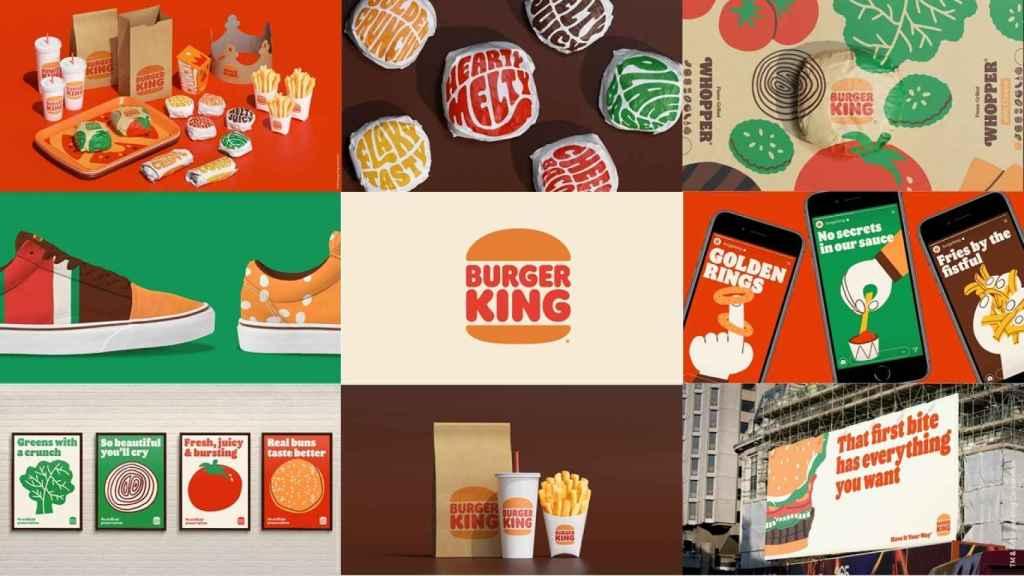 Nueva imagen de marca de Burger King.
