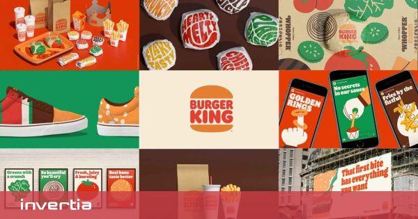 Burger King se transforma: así es la nueva imagen de la cadena de hamburguesas