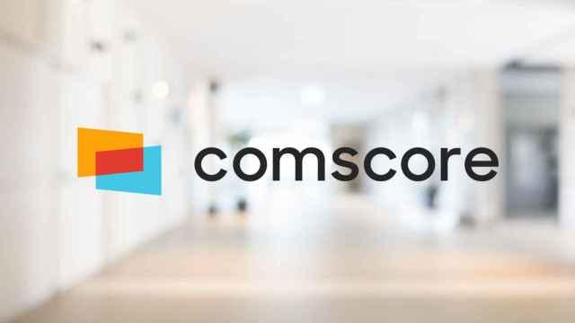 Logo de Comscore en una imagen de archivo.