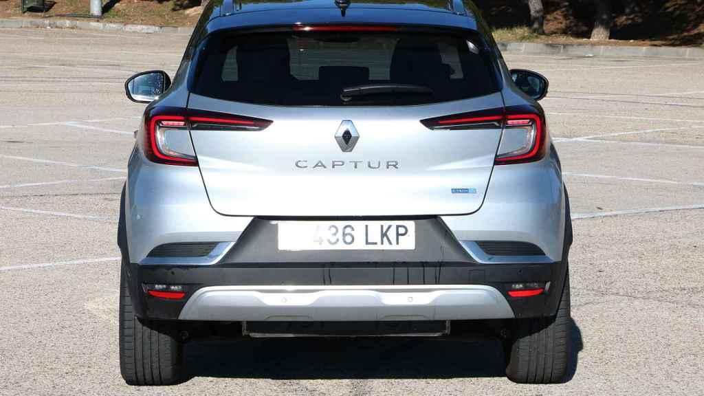 Este Renault Captur e-Tech logra unos 40 kilómetros reales en eléctrico.