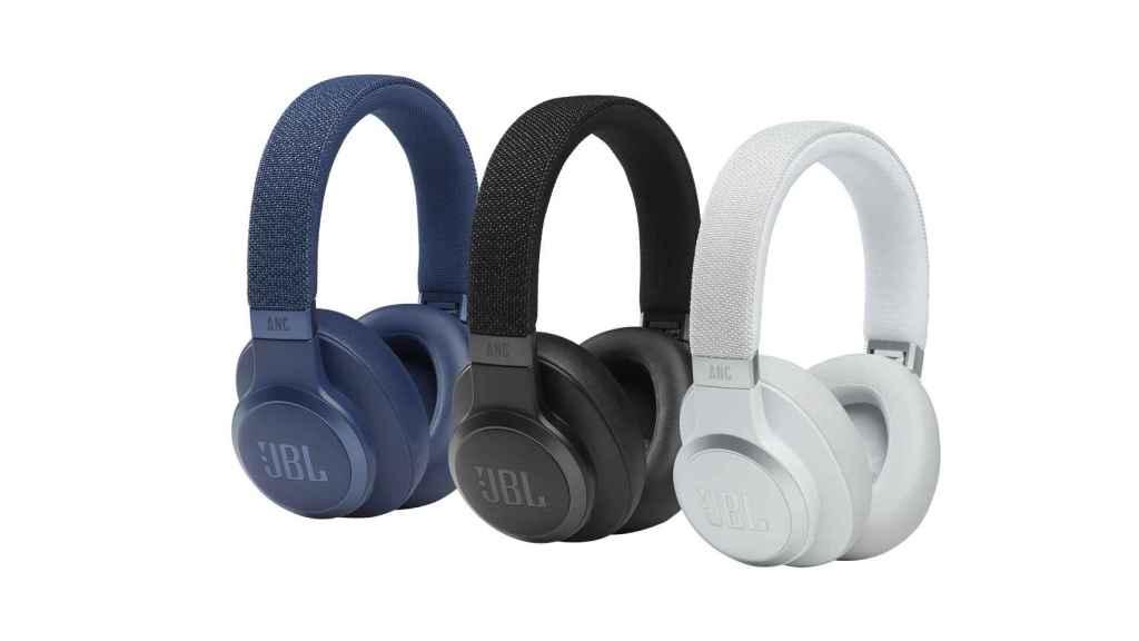 Los nuevos JBL LIVE 660NC son unos auriculares circumaurales.