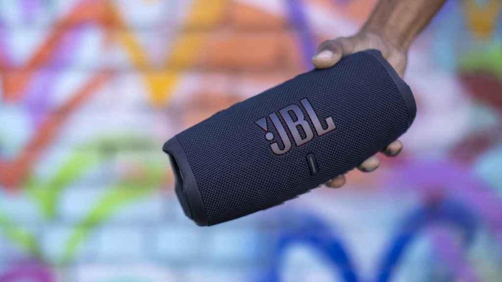 Así es el nuevo altavoz JBL Charge 5.