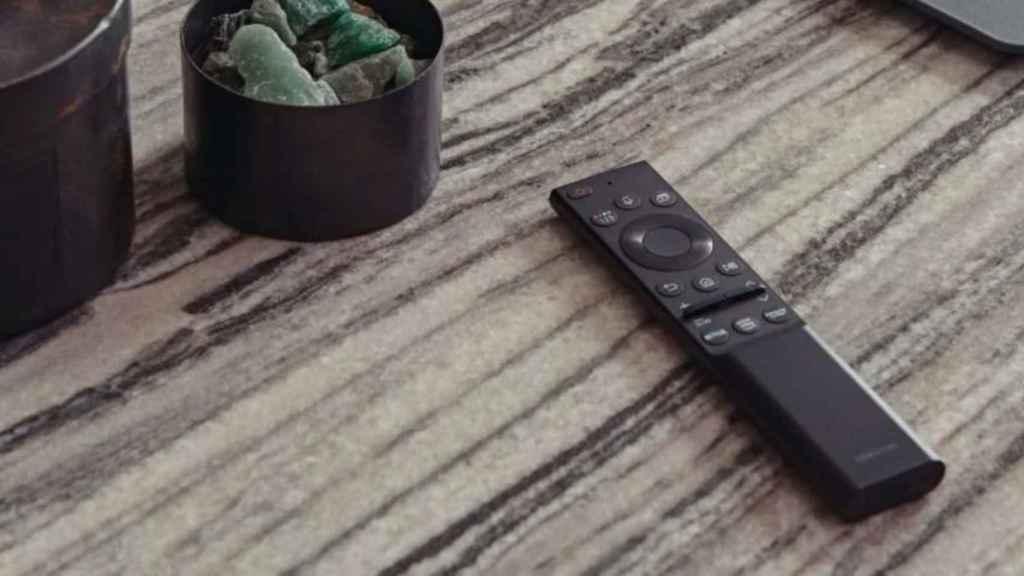 El mando de Samsung se carga con energía solar.