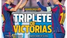 La portada del diario SPORT (09/01/2021)