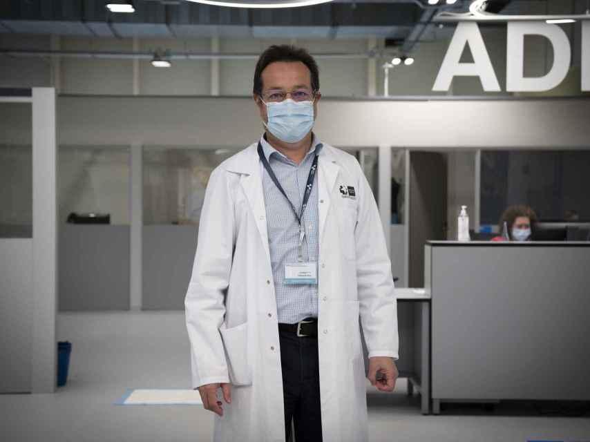 Fernando Prados es médico especialista en emergencias desde hace décadas.