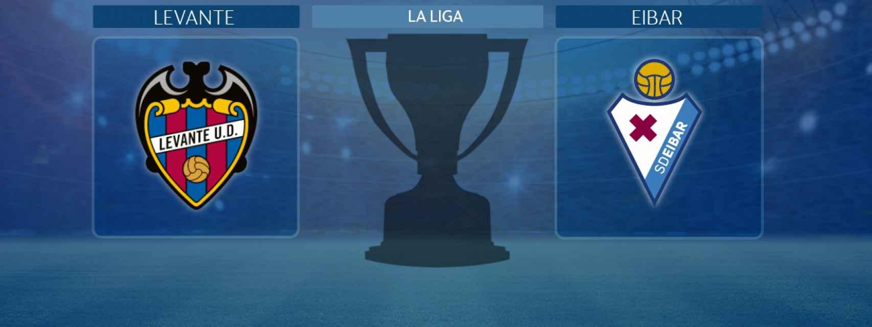 Levante - Eibar, partido de La Liga