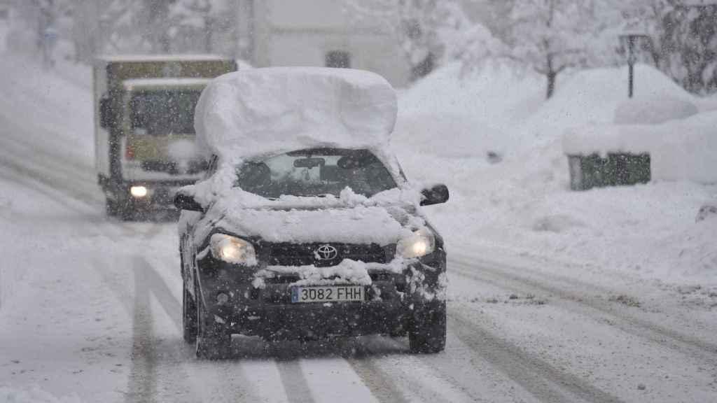 Los neumáticos de invierno son muy útiles en nevadas.