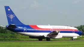 Avión de la aerolínea Sriwijaya.