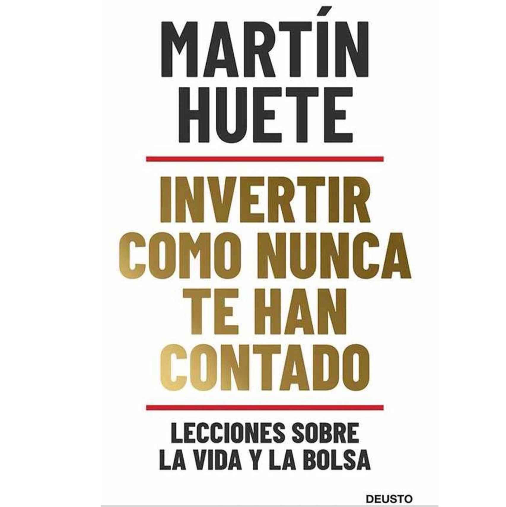 Portada del libro de Martín Huete, a la venta el 3 de febrero.