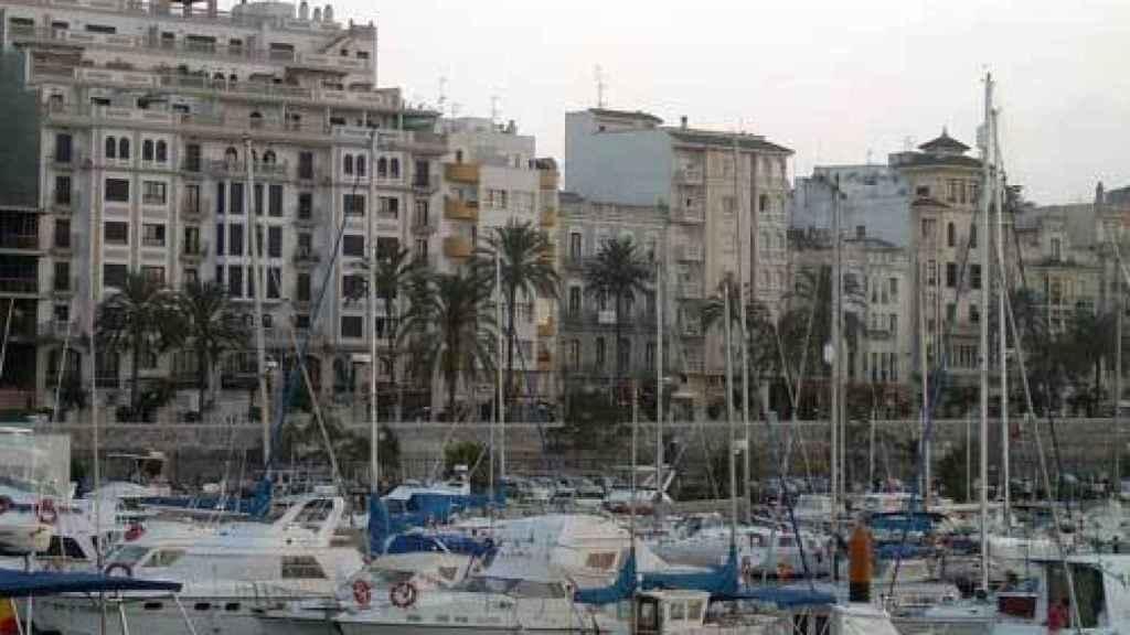 Paseo de las Palmeras (Ceuta) donde se encuentran domiciliadas varias operadoras del juego sin actividad.