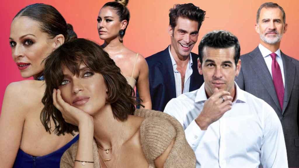 Sara Carbonero y Mario Casas han sido elegidos los mejor vestidos del 2020.