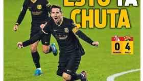 La portada del diario SPORT (10/01/2021)