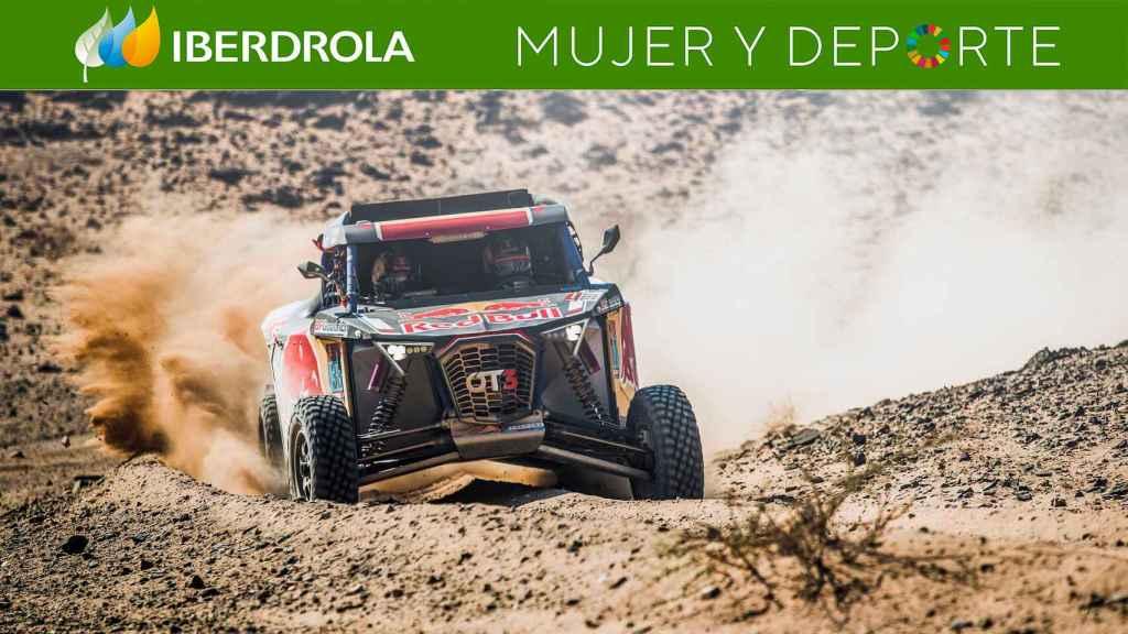 Cristina Gutiérrez sigue brillando en el Rally Dakar