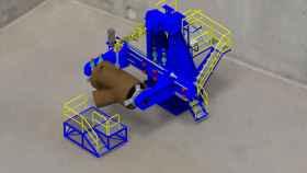 Recreación del astillero 4.0. Foto: Aimen