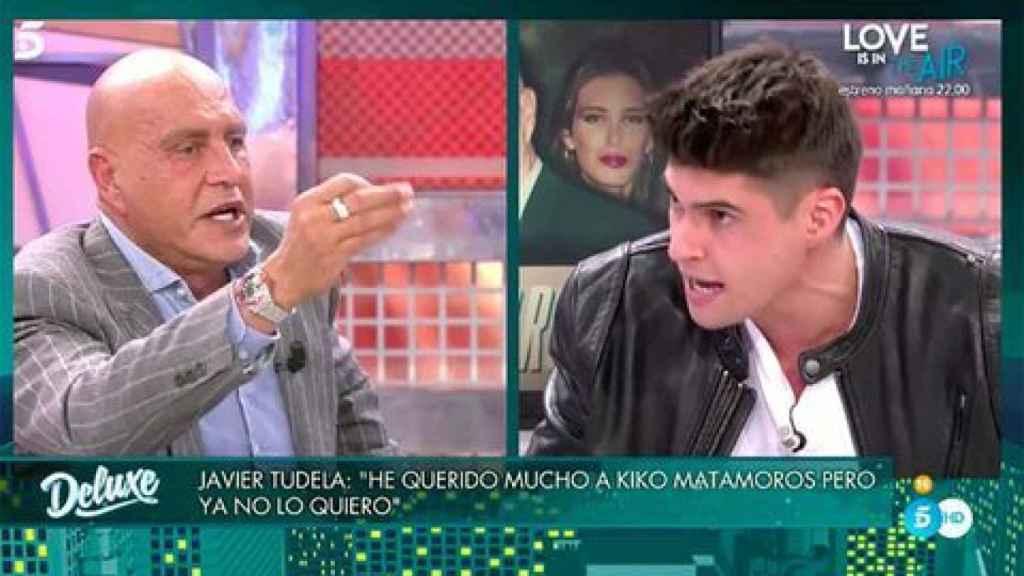 Kiko Matamoros y Javier Tudela en 'Sábado Deluxe'.