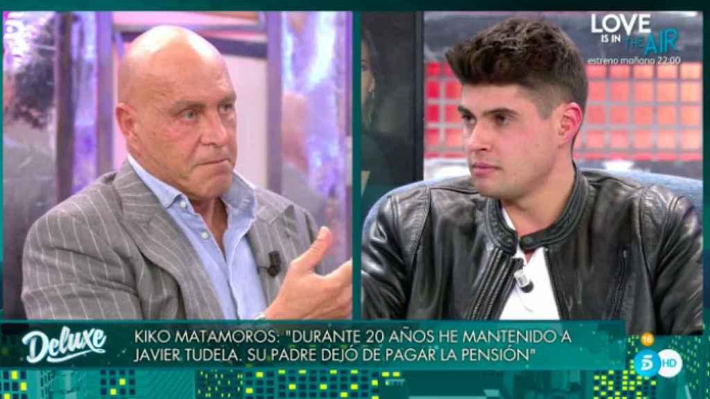 Javier Tudela le reprochó a Kiko la mala relación con sus hijos y sus problemas con Hacienda.
