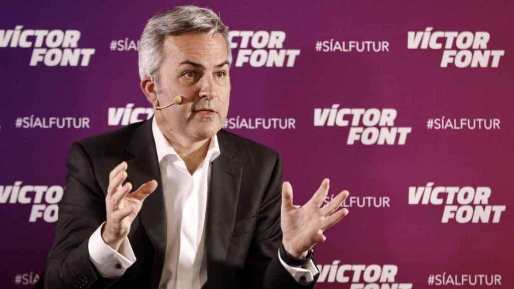Víctor Font, el socio de Granollers que quiere ser presidente del Barça