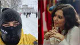 La pasión de Jairo, el novio de Díaz Ayuso, por el snowboard: deseaba el invierno y nevó en Madrid