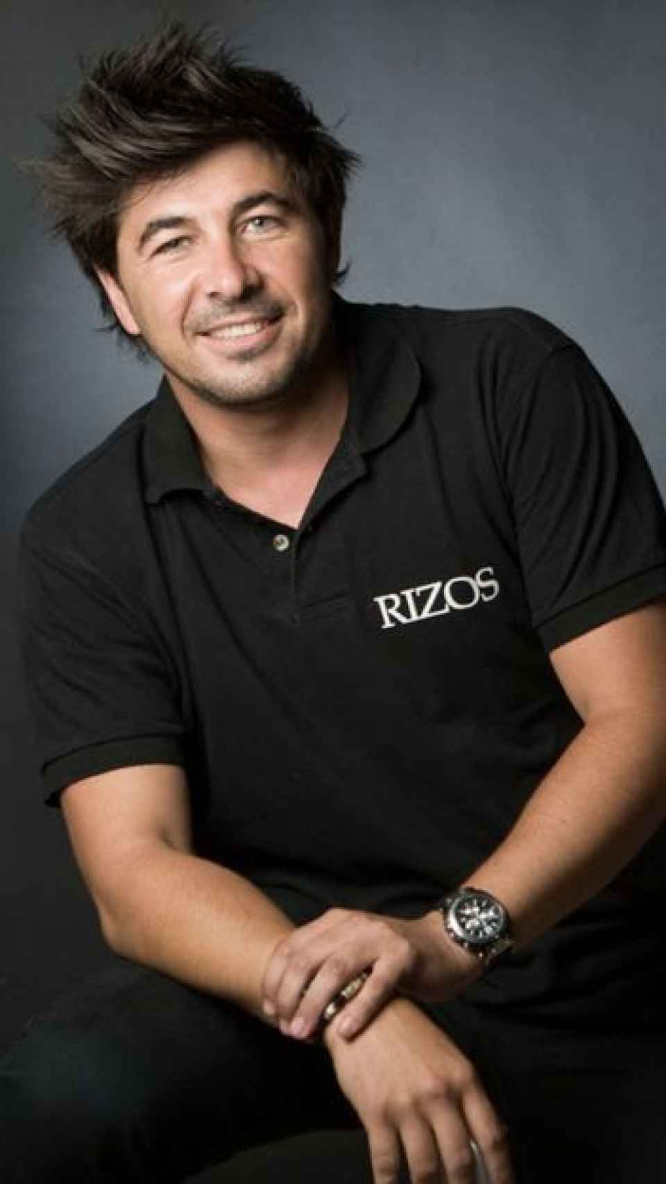 Jairo Alonso en 2012, en su etapa como peluquero de Rizo's.