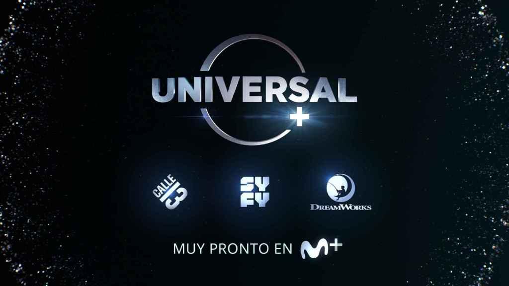 Universal + se podrá ver dentro de Movistar+.