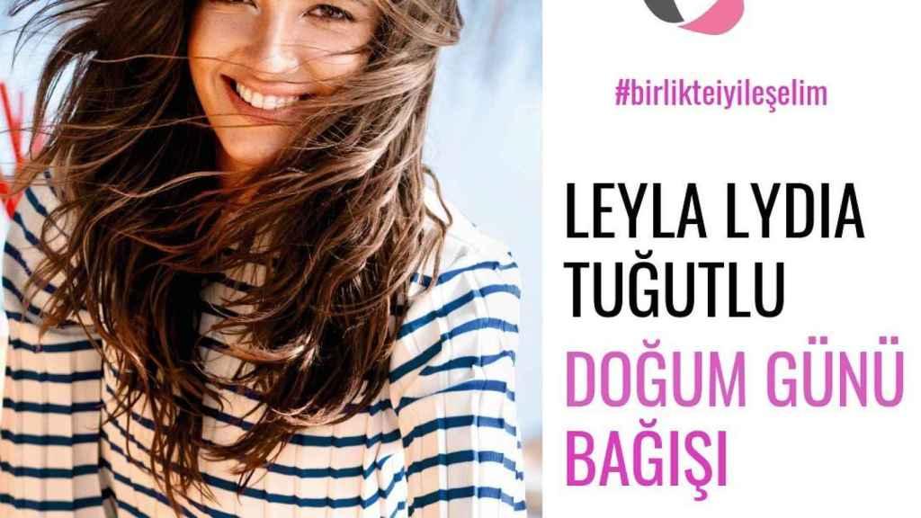 La actriz ha colaborado con una asociación contra el cáncer infantil.