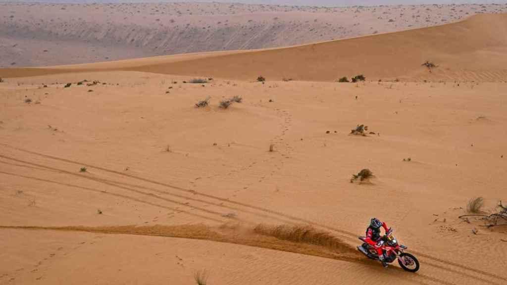 Joan Barreda en la etapa 8 del Rally Dakar 2021